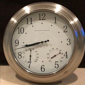 Restoration Hardware Wall Clock